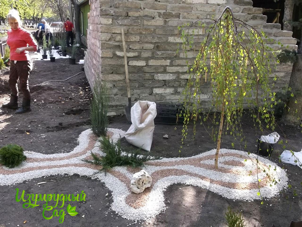 Изумрудный сад-Благоустройство и озеленение участка под ключ